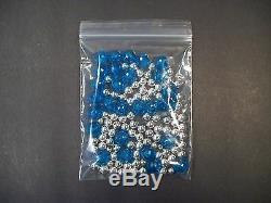 1 3/4 x 1 3/4 Ziplock Poly Bags 40,000 Reclosable Clear Plastic 2 mil Jewelry