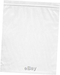 10 x 12, 2 mil (case of 1000) zipper reclosable plastic bags
