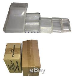 100 1000 2000 Grip Seal Bags 38mu Polythene Poly Plastic Zip Lock All Sizes