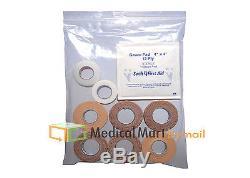 1000 20x20 Ziplock Bags Clear 4mil Small Poly Bag Reclosable Plastic Baggies