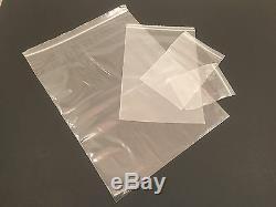 10000 3x4 Clear 2 Mil Zip Lock Bags- Resealable Plastic Ziplock-Reclosable 3x4