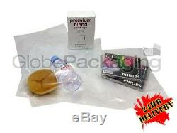10000 CLEAR 9x12 POLYTHENE PLASTIC FOOD GRADE BAGS 9 x 12 100 GAUGE 24HR