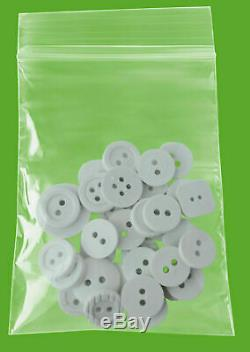 10000 Clear Plastic Reclosable Seal Bags 3 x 4 Jewelry Poly Packaging 4 Mil