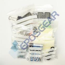10000 GL10 GA129 7.5 x 7.5 Clear Write-On Panel Grip Self Seal Plastic Bags