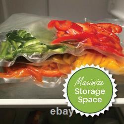1200 6x10 PINT FoodVacBags for FoodSaver machines Vacuum Sealer Bags CASE