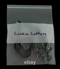 13x18 Clear Reclosable Plastic Poly Zipper Bags 6 Mil Zip Lock Bag 1000 Pieces