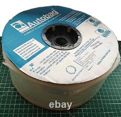 152x AUTOBAG Automated Packaging Sealed Reel 2750 Small Clear Plastic Bags