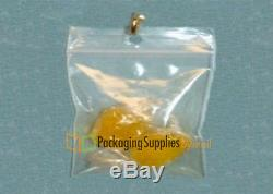 18000 pcs Clear Plastic Pharmacy Zipper Bags 2 Mil with Hang Hole 3x4