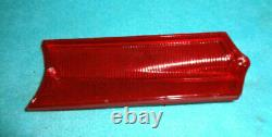 1964-65 Barracuda, 1965 Valiant, New Reproduction Tail Light Lenses, 1-pr, Lk Gd