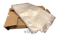 200 Gauge Strong Clear Rubbish Bin Bags Refuse Sacks Virgin Material 18x29x39