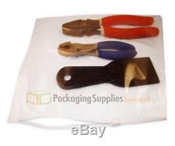 2000 PCS 14 x 10 Plastic Clear Slider Zip Zipper Ziplock Storage Bags