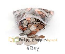 2000 PCS 14 x 20 Plastic Clear Zip Zipper Ziplock Reclosable Storage Bags