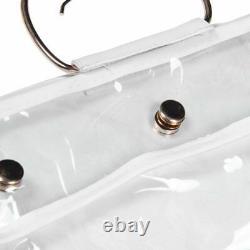 20XTransparent Dust Bag Clear Purse Organizer Dustproof Handbag Holder