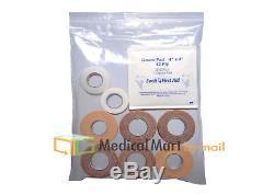 24000 4 x 4 CLEAR ZIPLOCK PHARMACY RECLOSABLE PLASTIC POLY BAGS