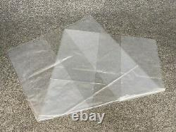 250 Gusseted 1.5 mil Poly Plastic Bags 18x14x32 Clear FDA Approved