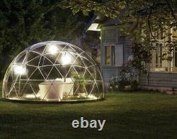 3.6m Garden Dome, 2x Canopies + Sand Bags, Garden Igloo, Perfect for Parties