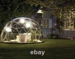 3.6m New Summer & Winter Garden Dome, Garden Igloo, Inc. 2x Canopy + Sand Bags