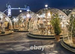 3.6m New Summer & Winter Garden Dome, Garden Igloo, Inc. 2x Canopy & Sand Bags