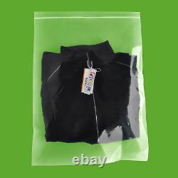 300 Clear 4 Mil Reclosable Plastic Top Seal Poly Bags 18 x 24 Jewelry Baggies