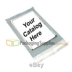 3000 3 Mil Clear View Poly Mailer Shipping Mailing Plastic Envelope Bags 14x17