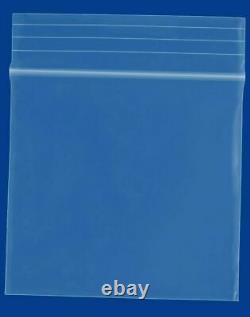 30000 1.25 x 1.25 Mini Zipper 2 Mil Clear Reclosable Storage Plastic Bags