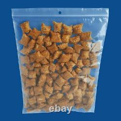 3x12 Clear Reclosable Plastic Poly Zip Lock Bags with Hang Hole 4 Mil 4000 Pcs