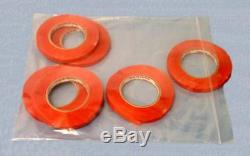 4000 8x12 Ziplock Bags 4 MIL Poly Bag Reclosable Clear Zipper Plastic Baggies