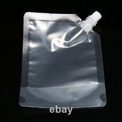 5-500 PCS 250 ml Plastic Stand-up Drink Bag Spout Pouch For Liquid Juice Milk