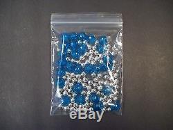 50,000 Small Ziplock Bags 2 x 1.5 Recloseable Clear Plastic 2 mil Jewelry USA