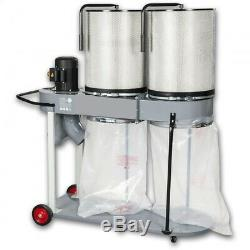 50 Dust Extractor Collector Bags Heavy Duty Plastic Wood Waste Extraction 70mu