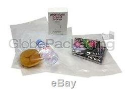 5000 x CLEAR 20x30 POLYTHENE PLASTIC FOOD GRADE BAGS 20 x 30 100 GAUGE 24HR