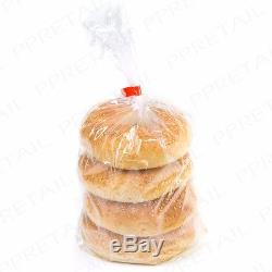500G THICK HEAVY DUTY Clear Plastic Bags LARGE-SMALL Rock/Stone DISPENSER BOXED