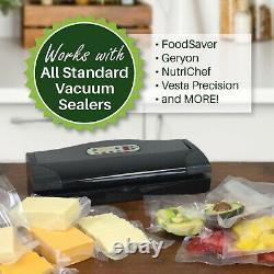 600 GALLON FoodVacBags 11x16 for FoodSaver machines Vacuum Sealer Bags FULL CASE
