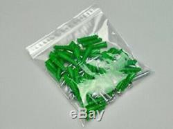 60cm x 60cm 2 mil. Clear Plastic Reclosable Single Zipper Poly Bag (50 Pack)