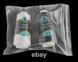 7x8 Clear Reclosable Plastic Poly Zipper Bags 2 Mil Zip Lock Bag 4000 Pieces