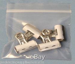 8 x 10 Clear Zipper Reclosable Zipper Plastic Bag 2 Mil 10000 Pieces