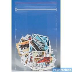 8x12 2 Mil Clear Minigrip Ziplock Plastic Poly Bag 1000