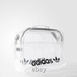 ADIDAS AB2978 Transparent Airliner Trefoil Logo Strap Bag RARE
