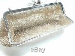 Auth ANTEPRIMA Wire Bag SilverGold Clear Wire Plastic Shoulder Bag