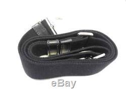 Auth PRADA Canapa 1BG439 DarkGray Clear Silver Denim Plastic Hardware Tote Bag