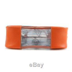 Authentic PRADA Plastics Leather tote bag Fish motif