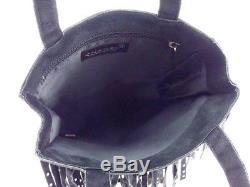 BVLGARI sunglasses glasses rhinestone 8092BA 50218G clear steel plastic 15131