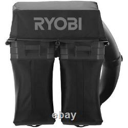 Bagger for RYOBI Riding Mower 30 in Clean-Up Durable 2-Bagging Blades Two Bags