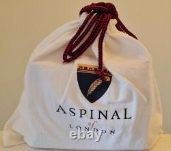 Brand New Aspinal Of London Perspex Trunk Box Bag
