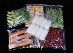 Bulk Large, Extra Large Resealable Zip Lock Clear Plastic Bags A3 A4 C6 19 Sizes