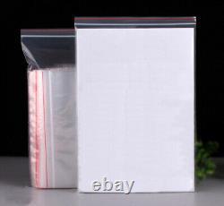 Bulk Resealable Zip Lock Pe Clear Food Grade Plastic Bags Small Large Ziplock