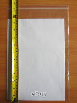 Bulk Zip Lock Plastic Bags x1000 A4 Large 33cmx23cm Clear Resealable Ziplock
