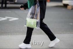 CELINE Bag SOLO PVC RUNWAY 2018 CLEAR PLASTIC BAG TOTE, Phoebe Philo Icon