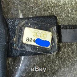 CHANEL Hand bag Plastic chain Vinyl Clear Black 804