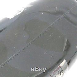 CHANEL Window PlatChain Shoulder Bag Plastics Clear Black Free Shipping Used